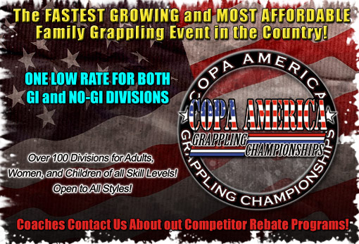 Copa America Submission Grappling Championships : GI-BJJ / NO-GI